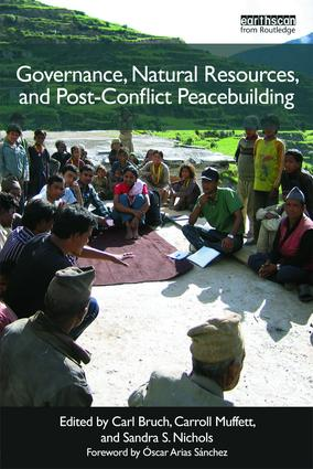 Post-Conflict Peacebuilding and Natural Resource Management: Six volume set, 1st Edition (Paperback) book cover