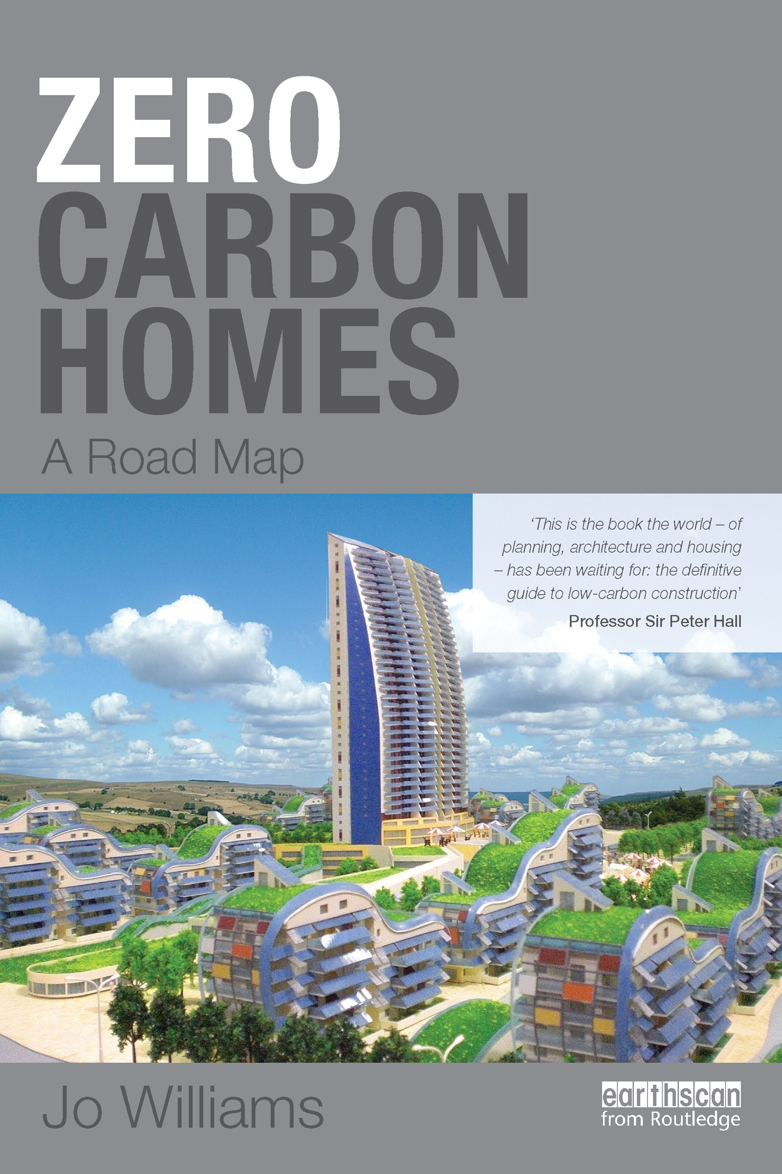 Zero-carbon Homes: A Road Map (Paperback) book cover
