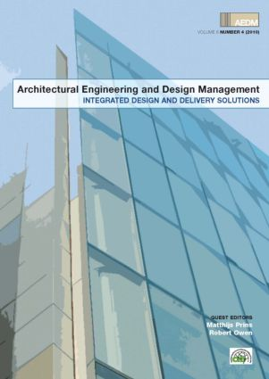 Integrated Design and Delivery Solutions (Hardback) book cover