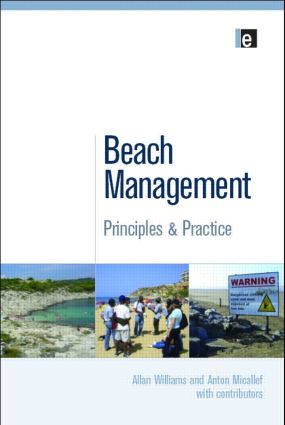 Beach Management: Principles and Practice, 1st Edition (Paperback) book cover