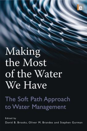 Making the Most of the Water We Have: The Soft Path Approach to Water Management (Paperback) book cover
