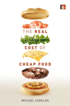 The Real Cost of Cheap Food (Paperback) book cover