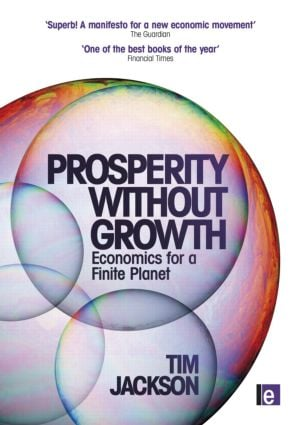 Prosperity without Growth: Economics for a Finite Planet (Paperback) book cover
