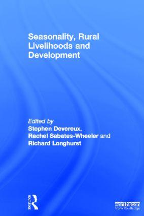 Seasonality, Rural Livelihoods and Development book cover