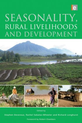 Seasonality, Rural Livelihoods and Development (Paperback) book cover