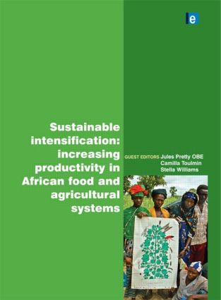 Sustainable Intensification: Increasing Productivity in African Food and Agricultural Systems (Hardback) book cover