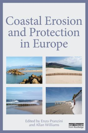 Coastal Erosion and Protection in Europe (Hardback) book cover