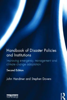 Handbook of Disaster Policies and Institutions: Improving Emergency Management and Climate Change Adaptation, 2nd Edition (Hardback) book cover