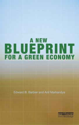 A New Blueprint for a Green Economy (Paperback) book cover