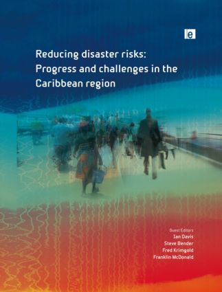 Reducing Disaster Risks: Progress and Challenges in the Caribbean Region (Hardback) book cover