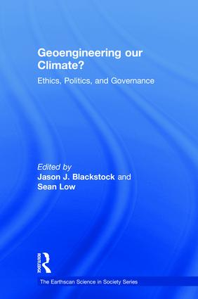 Is solar geoengineering a national security risk?