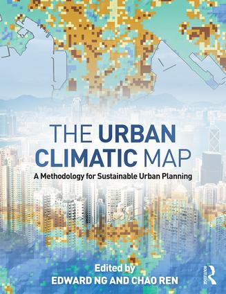 The Urban Climatic Map: A Methodology for Sustainable Urban Planning, 1st Edition (Hardback) book cover