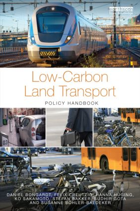 Low-Carbon Land Transport: Policy Handbook (Hardback) book cover