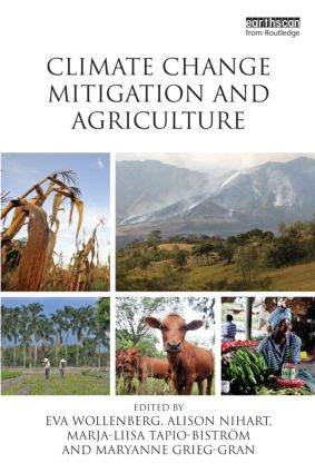Climate Change Mitigation and Agriculture (Paperback) book cover