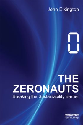 The Zeronauts: Breaking the Sustainability Barrier book cover