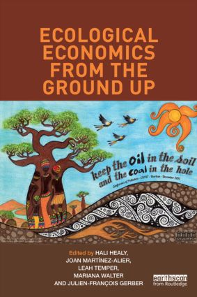 Ecological Economics from the Ground Up (Paperback) book cover