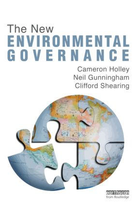 The New Environmental Governance (Hardback) book cover