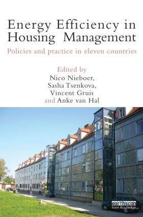 Energy Efficiency in Housing Management: Policies and Practice in Eleven Countries (Hardback) book cover