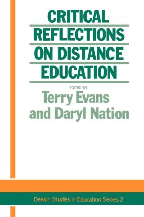 Critical Reflections On Dist.: 1st Edition (Paperback) book cover