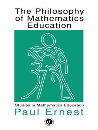 Philosophy Mathematics Educ: 1st Edition (Paperback) book cover
