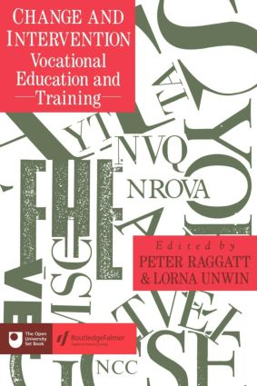 Change And Intervention: Vocational Education And Training, 1st Edition (Hardback) book cover