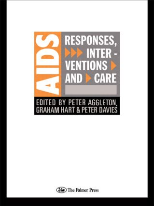 AIDS: Responses, Interventions and Care book cover