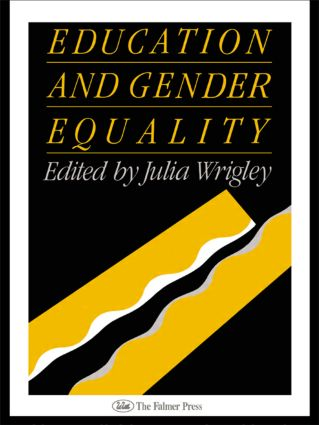 Education and Gender Equality: 1st Edition (Paperback) book cover