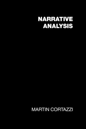 Narrative Analysis (Paperback) book cover