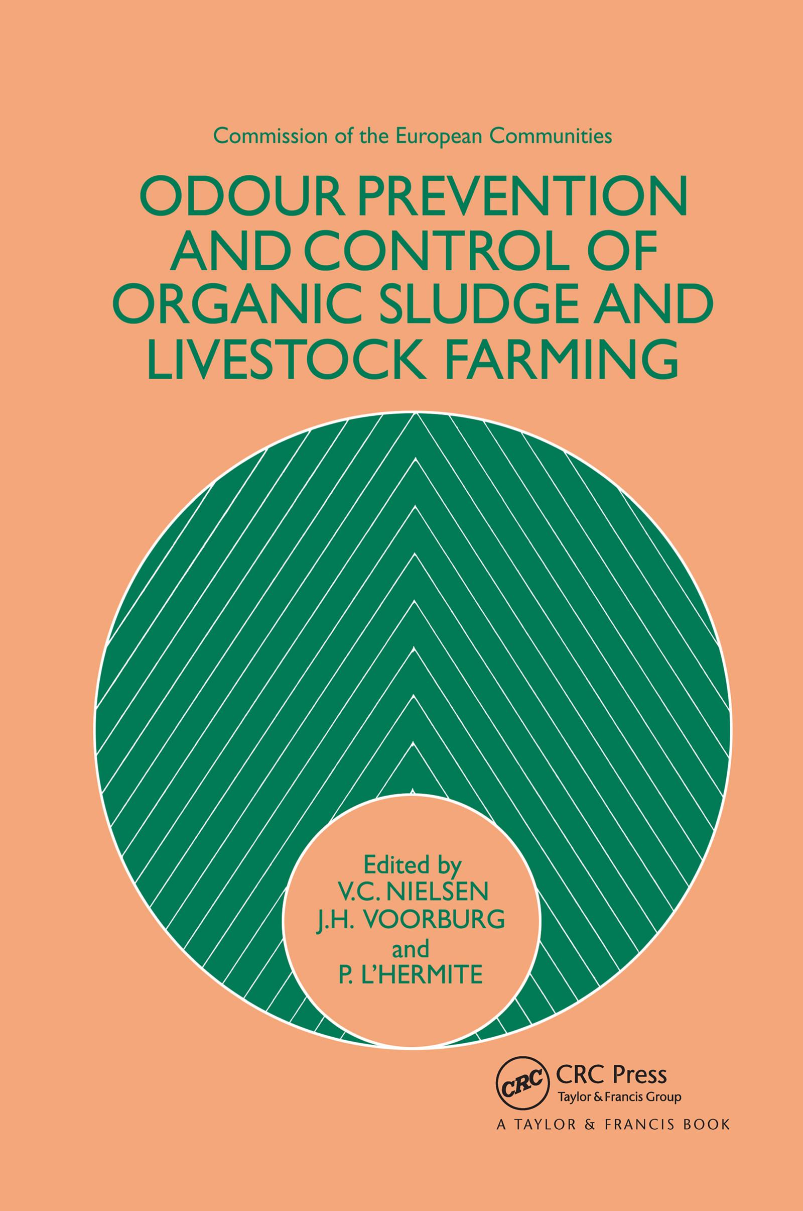 Odour Prevention and Control of Organic Sludge and Livestock Farming (Hardback) book cover