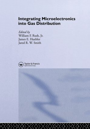 Integrating Microelectronics into Gas Distribution: 1st Edition (Hardback) book cover