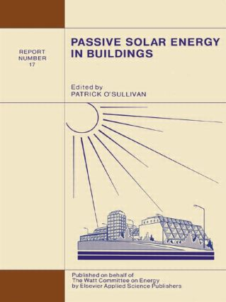 Passive Solar Energy in Buildings