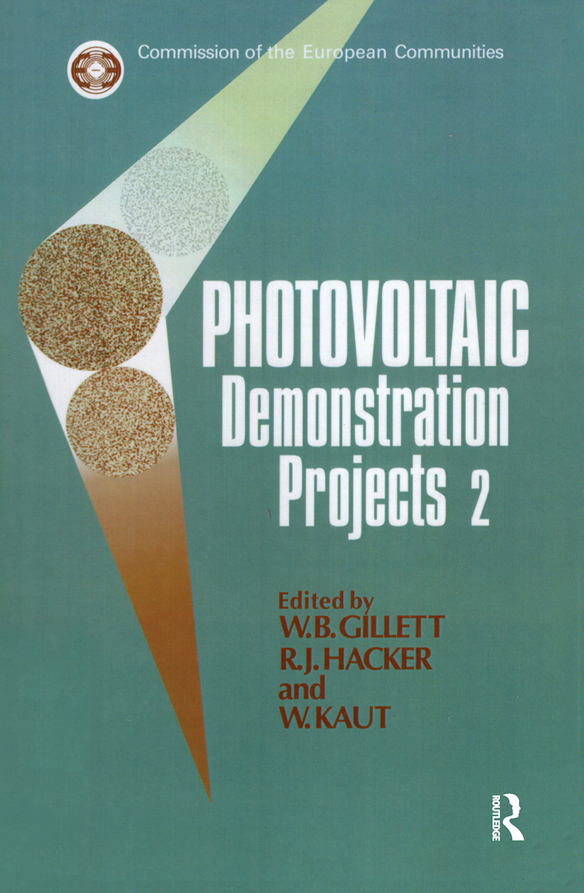 Photovoltaic Demonstration Projects 2: 1st Edition (Hardback) book cover