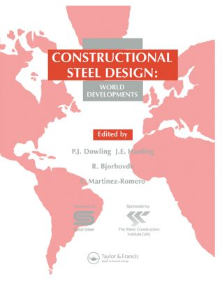 Constructional Steel Design: World developments, 1st Edition (Hardback) book cover