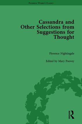 Cassandra and Suggestions for Thought by Florence Nightingale book cover