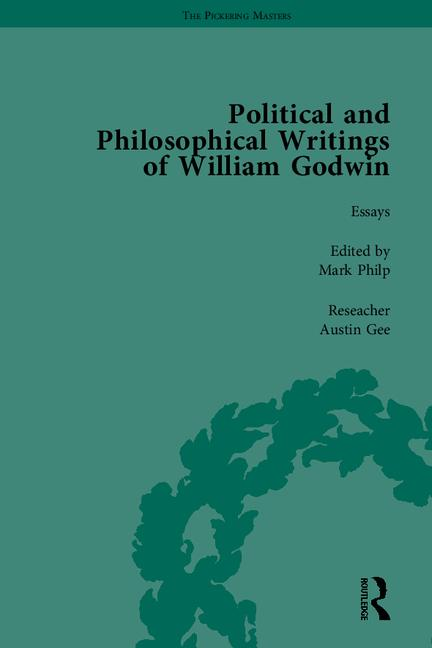 The Political and Philosophical Writings of William Godwin: 1st Edition (Hardback) book cover