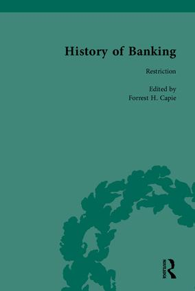 The History of Banking I, 1650-1850: 1st Edition (Hardback) book cover