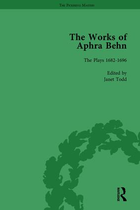 The Works of Aphra Behn: v. 7: Complete Plays: 1st Edition (Hardback) book cover