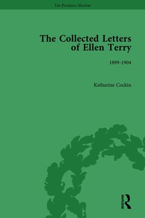 The Collected Letters of Ellen Terry, Volume 4: 1st Edition (Hardback) book cover