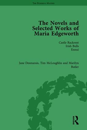 The Works of Maria Edgeworth: 1st Edition (Hardback) book cover