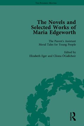 The Works of Maria Edgeworth, Part II: 1st Edition (Hardback) book cover