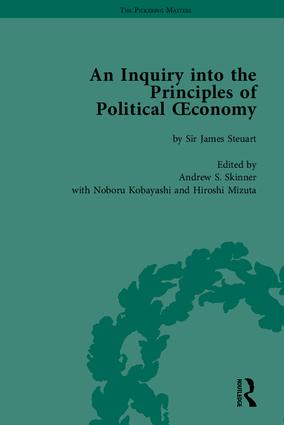 An Inquiry into the Principles of Political Oeconomy: A Variorum Edition, 1st Edition (Hardback) book cover