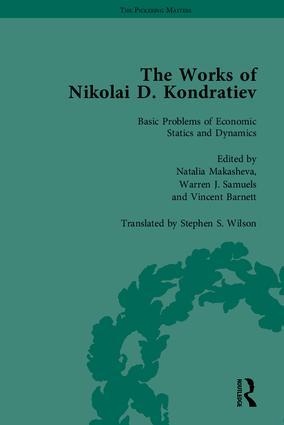 The Works of Nikolai D Kondratiev