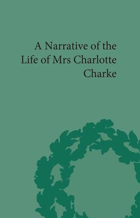 Narrative of the Life of Mrs Charlotte Charke book cover