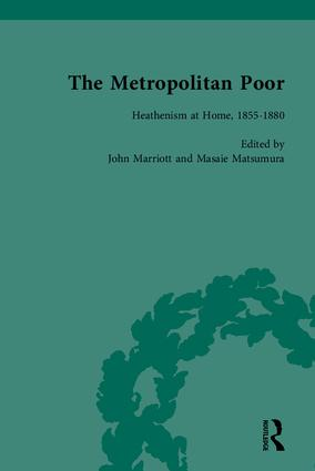 The Metropolitan Poor: Semifactual Accounts, 1795–1910, 1st Edition (Hardback) book cover