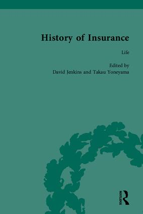 The History of Insurance: 1st Edition (Hardback) book cover