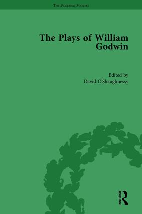 The Plays of William Godwin: 1st Edition (Hardback) book cover