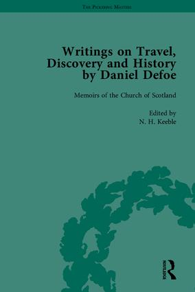 Writings on Travel, Discovery and History by Daniel Defoe, Part II: 1st Edition (Hardback) book cover