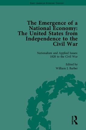 The Emergence of a National Economy: The United States from Independence to the Civil War book cover