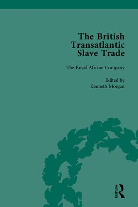 The British Transatlantic Slave Trade: 1st Edition (Hardback) book cover