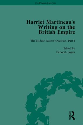 Harriet Martineau's Writing on the British Empire: 1st Edition (Hardback) book cover